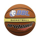 PROTEAM Bola Basket Size 7 [SA-7] - Brown/Yellow